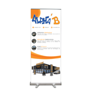 rollup 85x200mm avec house